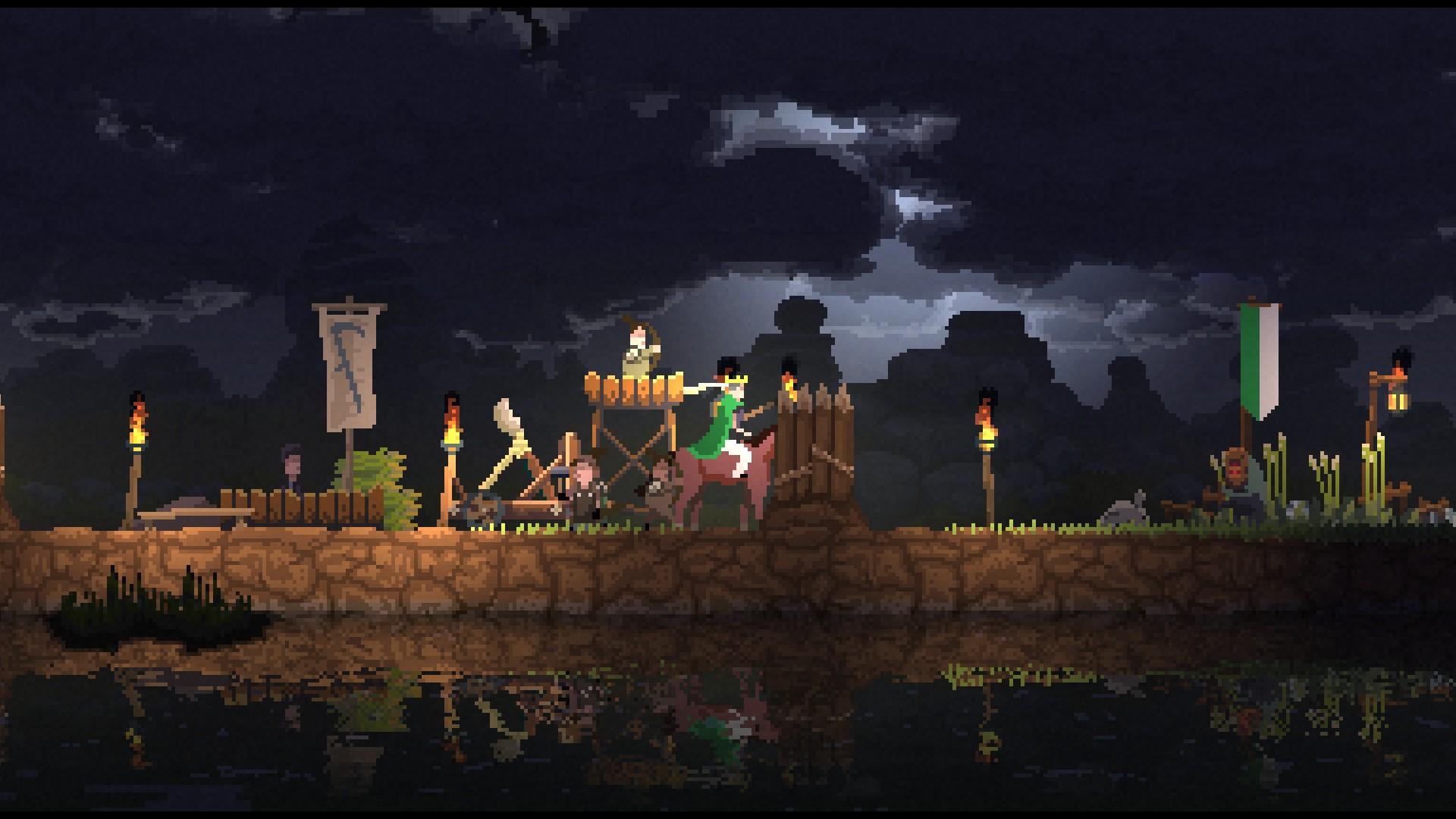 Kingdom - Verteidigung des Lagers mit schwerem Gerät
