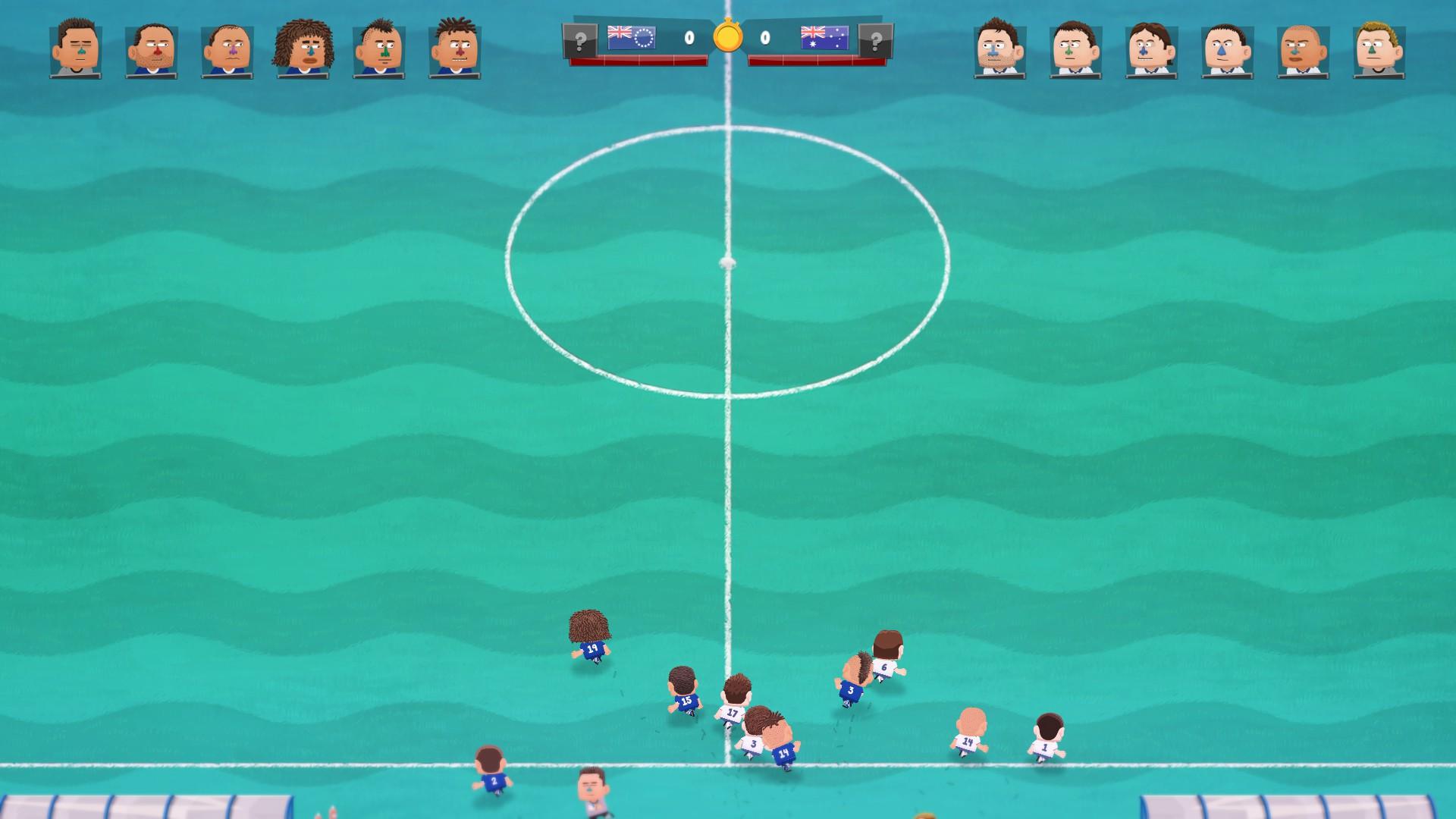 Kopanito All-Stars Soccer - Das Spiel beginnt