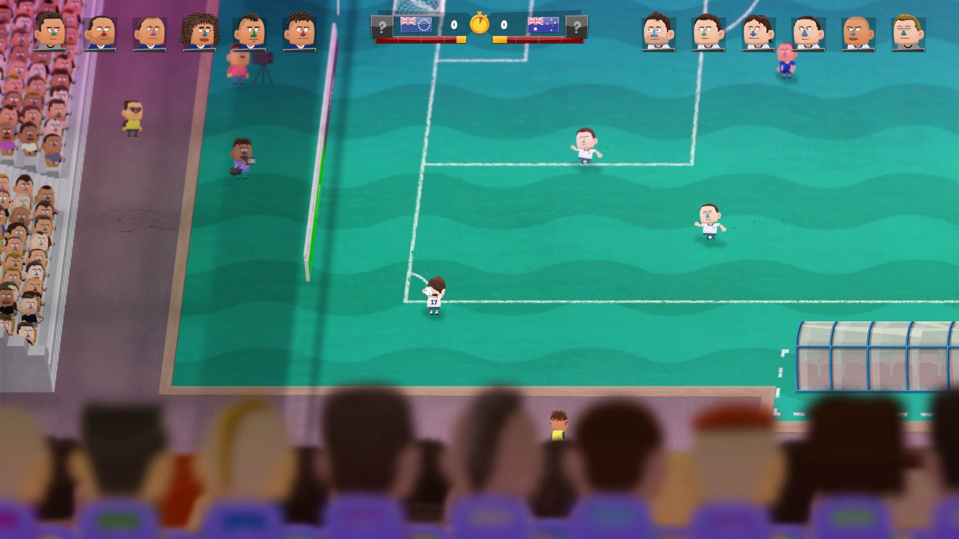 Kopanito All-Stars Soccer - Einwurf