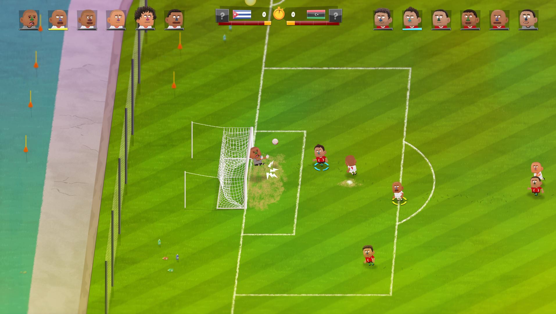 Kopanito All-Stars Soccer - Im Game