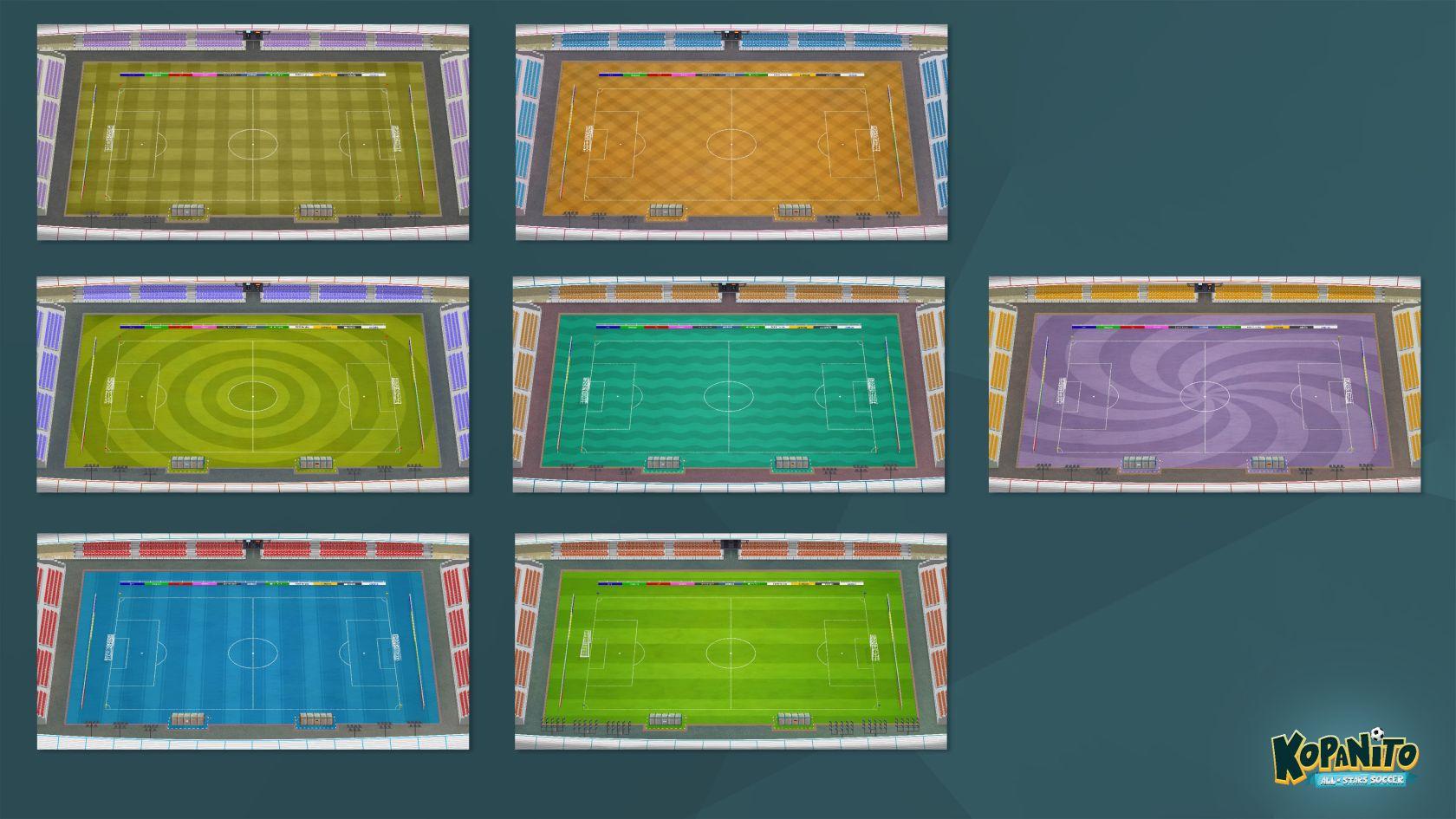 Kopanito All-Stars Soccer - Stadien