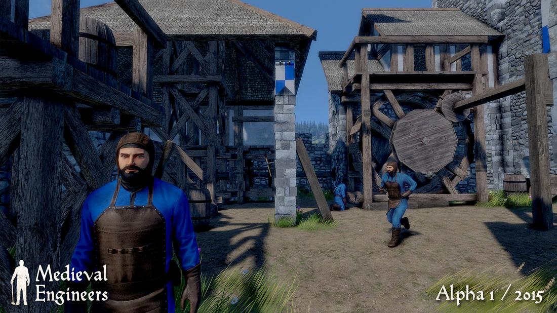 Medieval Engineers - Die blauen Jungs auf Ihrer Burg