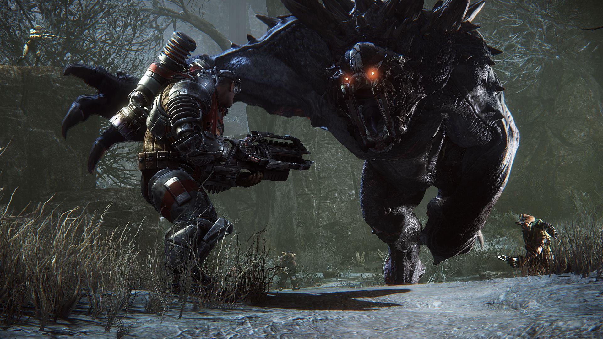 Evolve - Kampf gegen das Monster