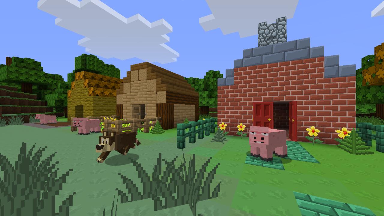 Minecraft - Die 3 kleinen Schweinchen