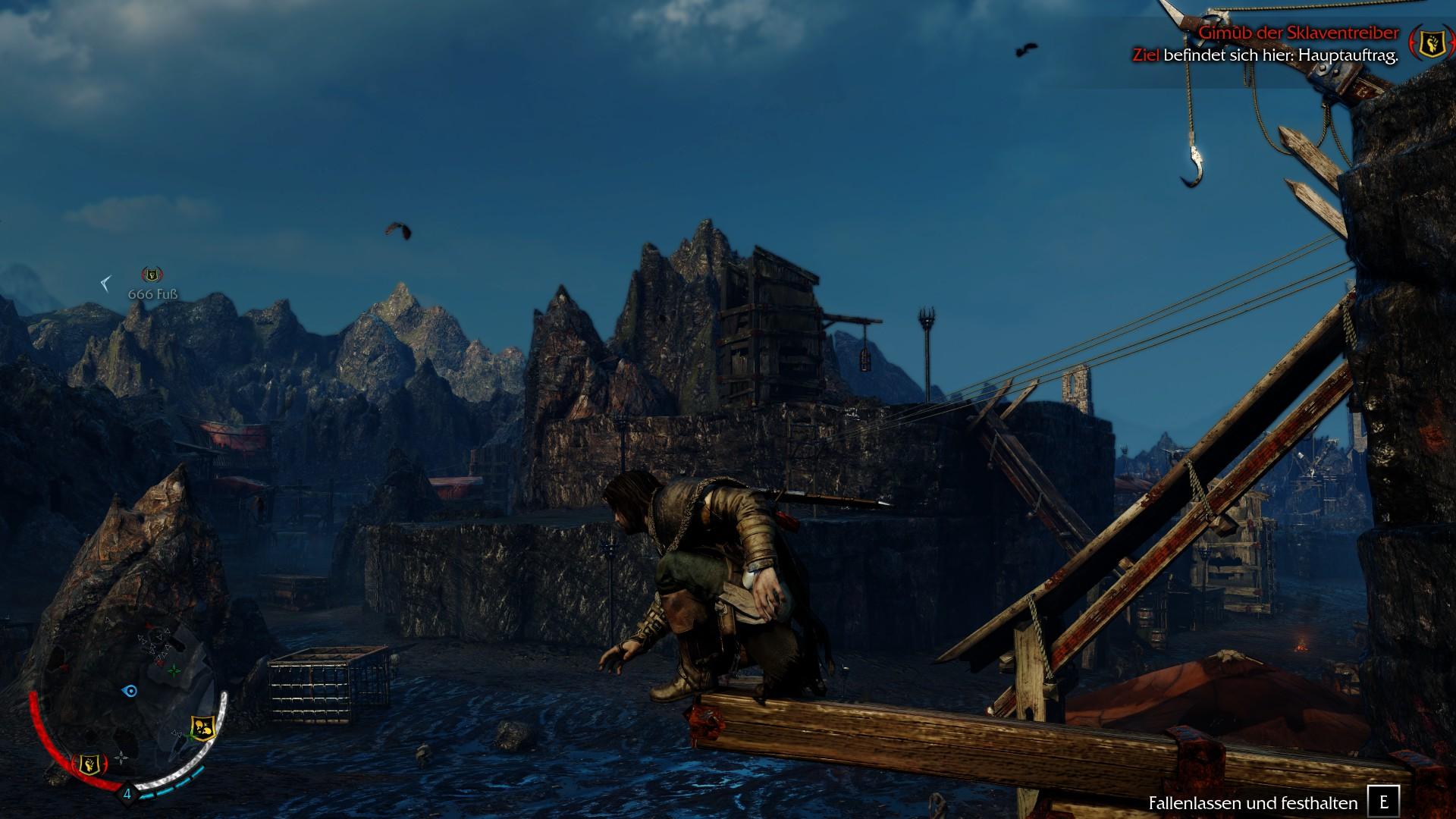 Mittelerde Mordors Schatten - Klettern wie in Assassins Creed
