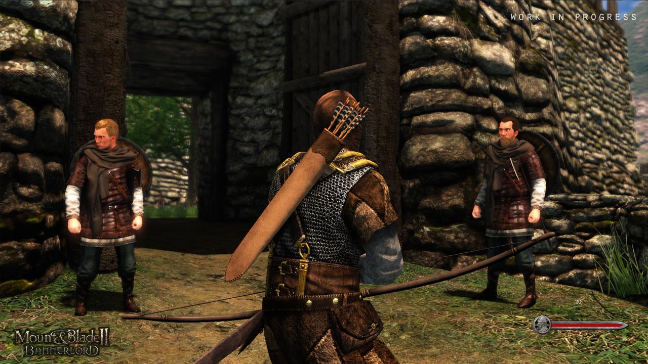 Mount&Blade II: Bannerlord Work in Progress