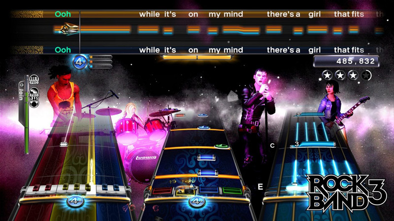 Music in Videogames Rockband 3