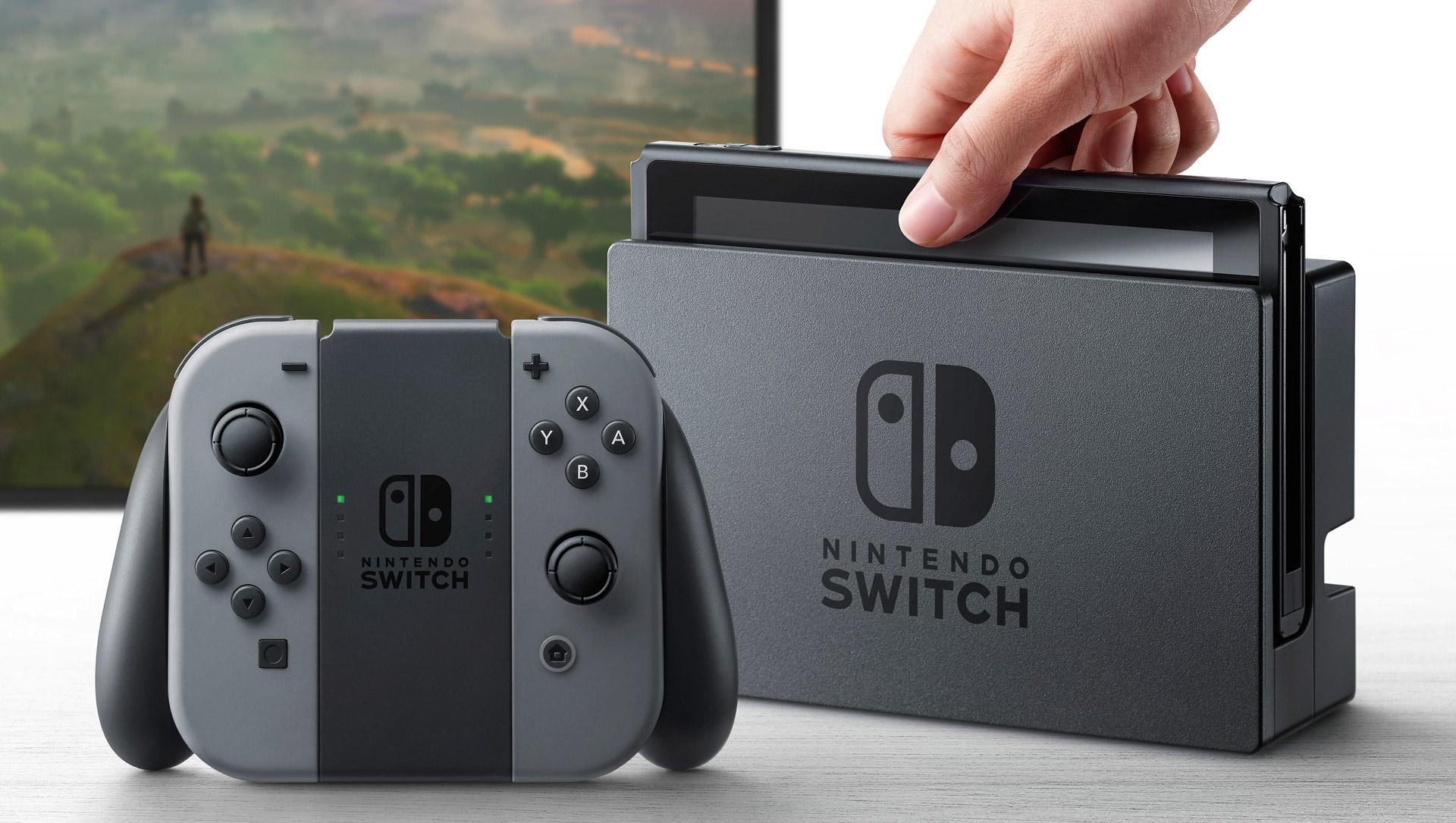 Nintendo Switch - Konsole und Controller
