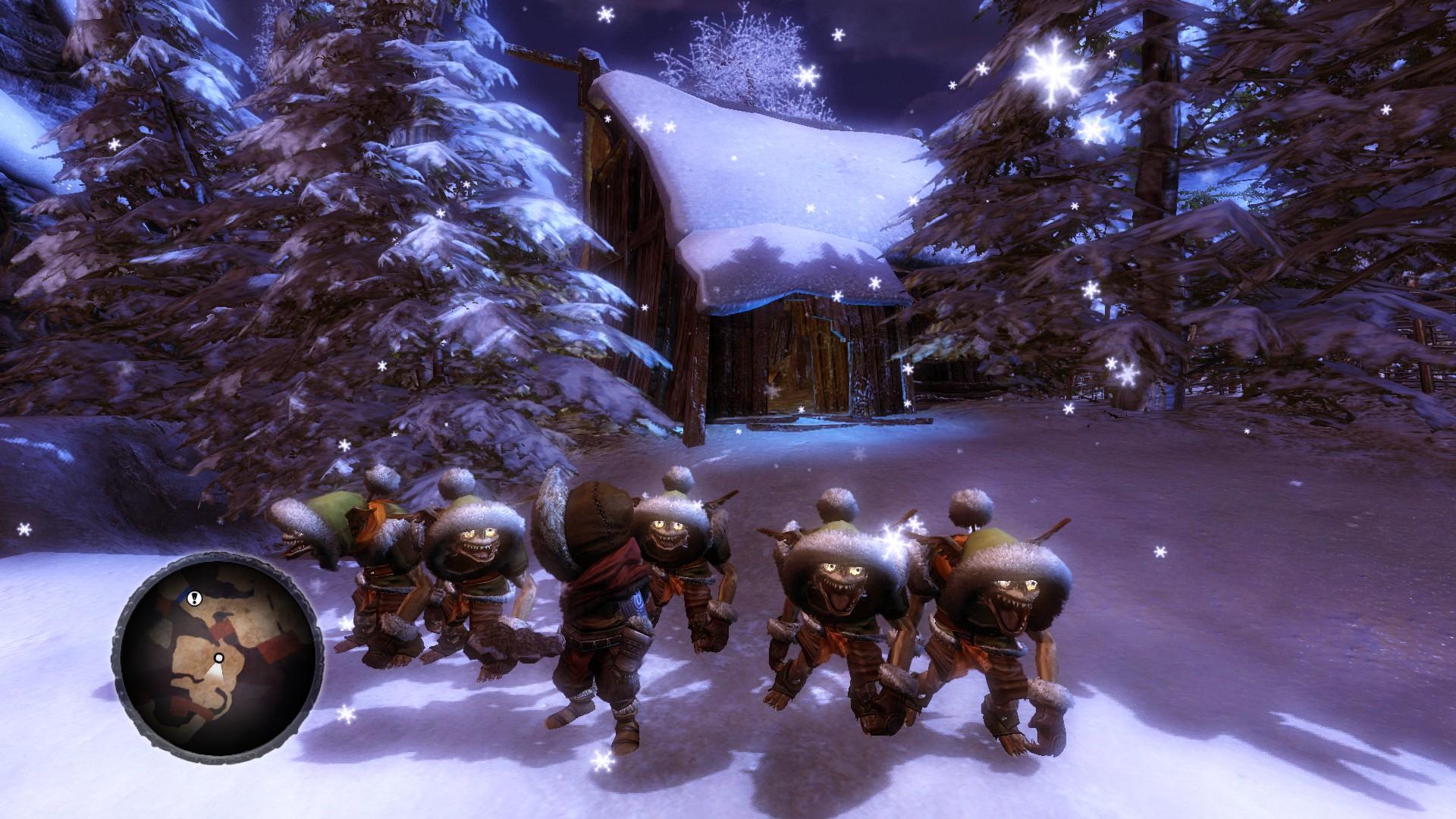 Overlord II - Mit den Minions im Schnee