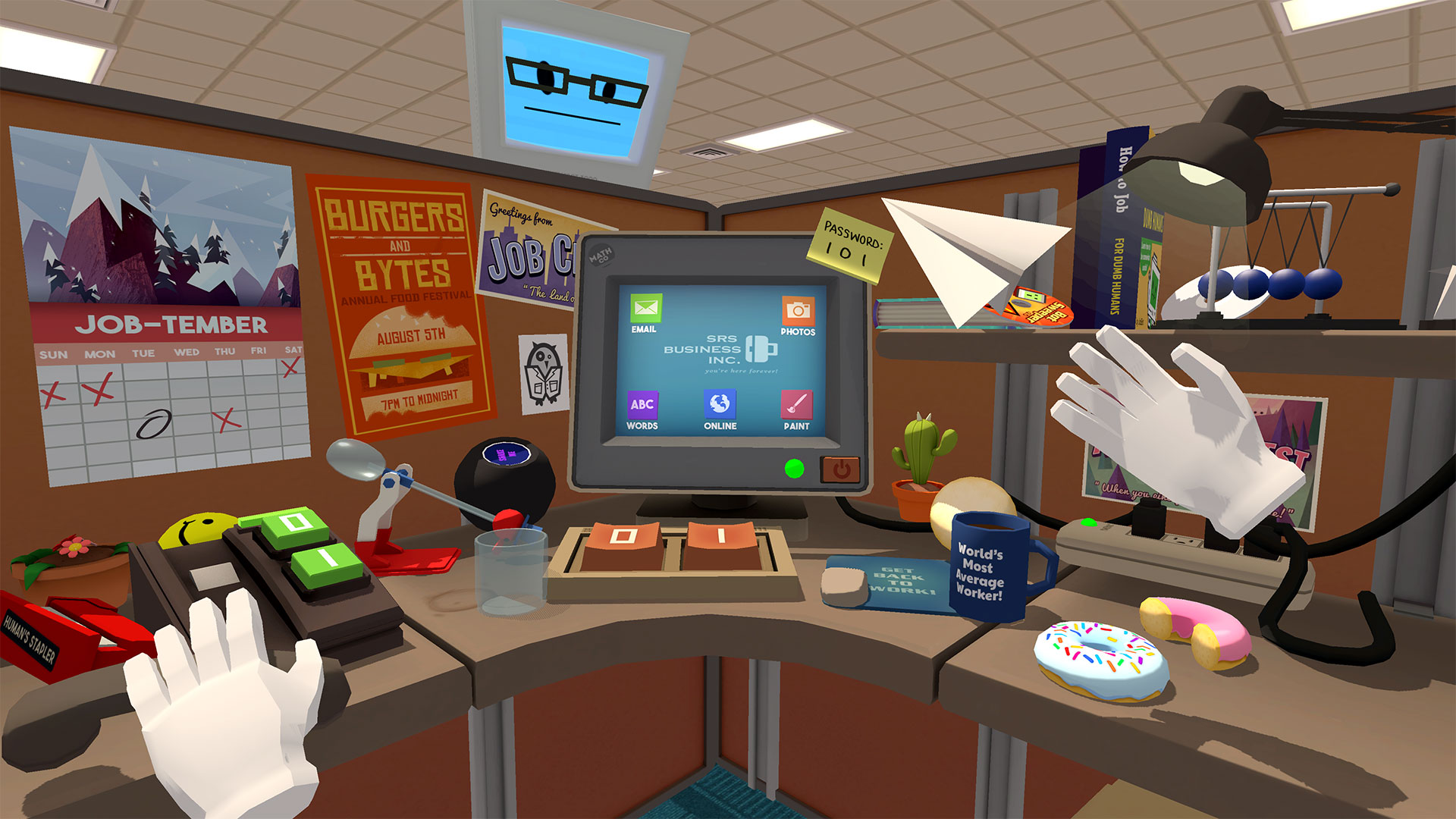 Job Simulator - Physik im Büro
