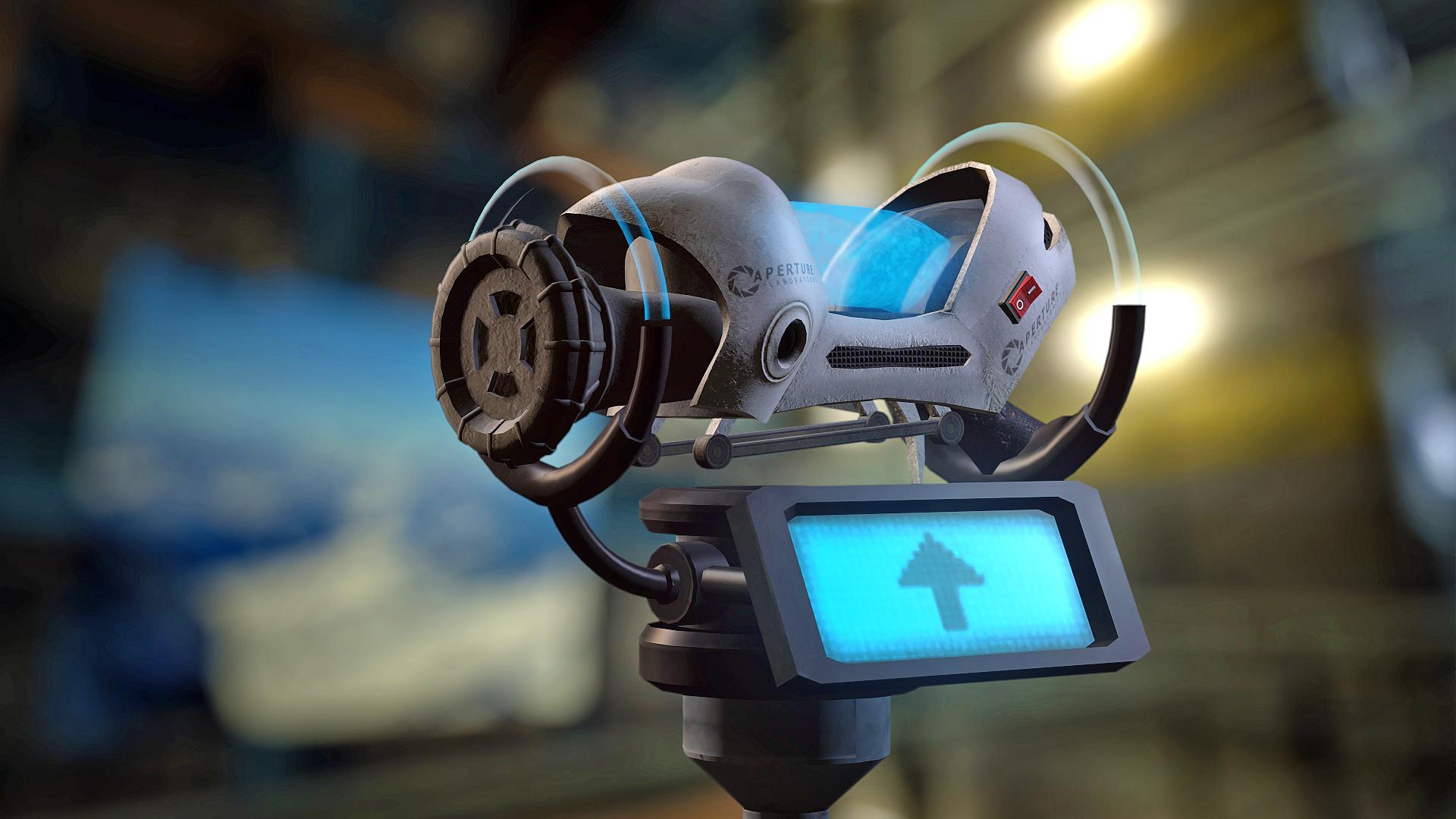 Portal 2 Mod - Aperture Tag The Paint Gun Testing Initiative - Die Gel-Kanone