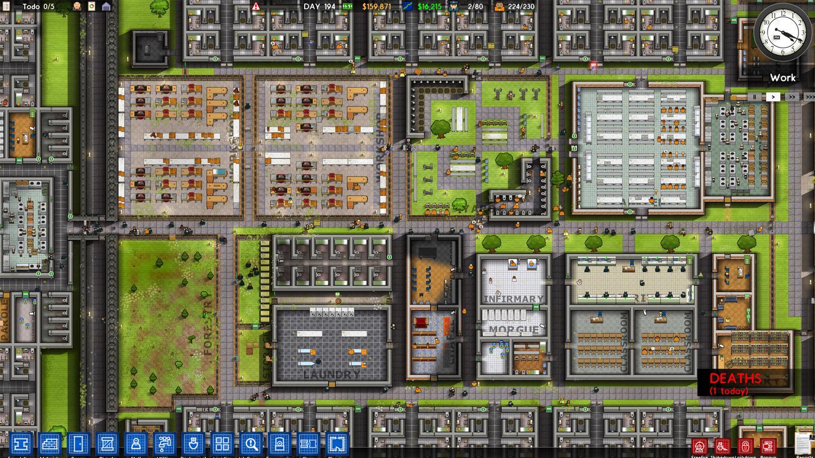 Prison Architect - Planung ist alles