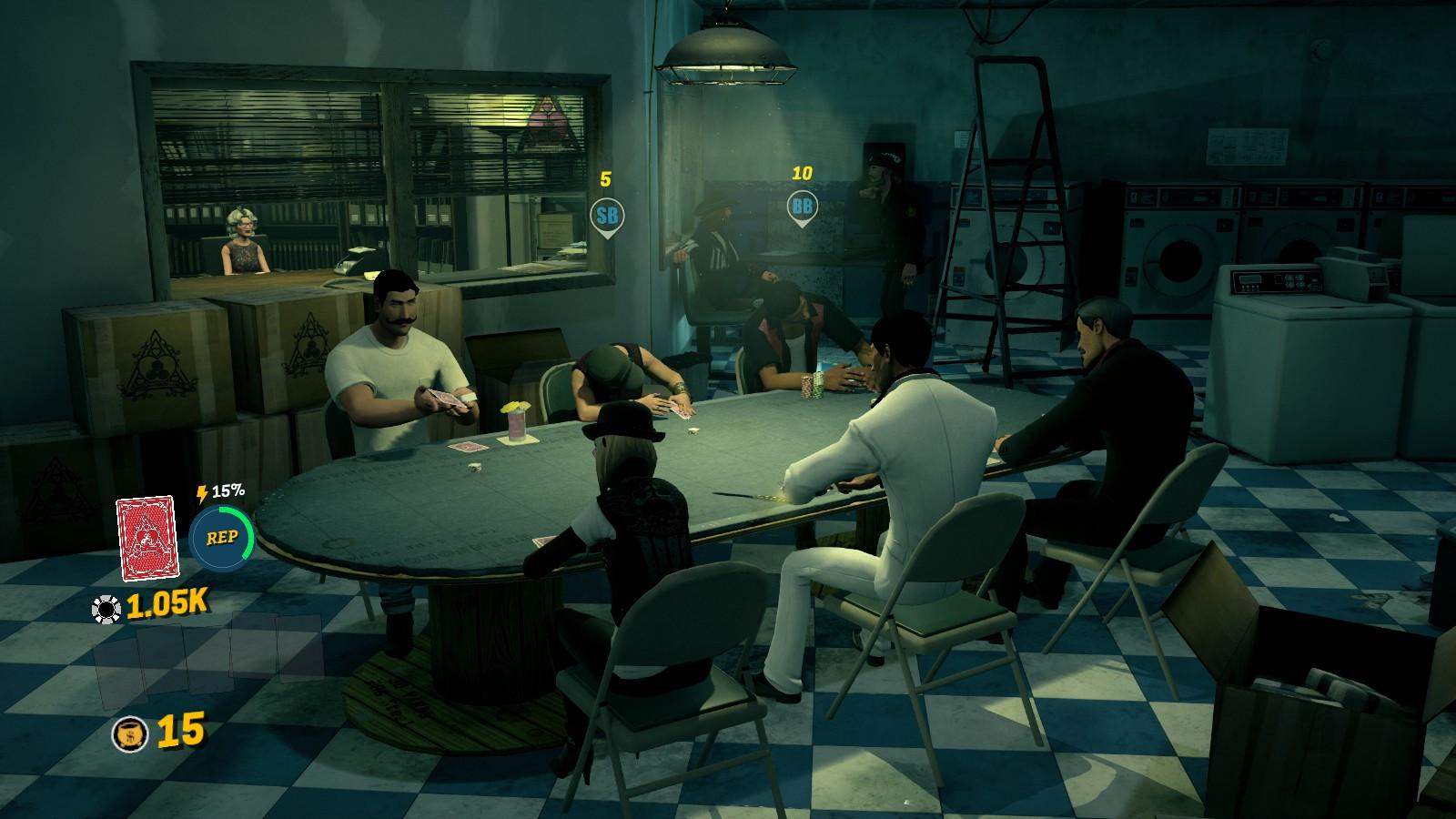 Prominence Poker - Dubiose Waschküche