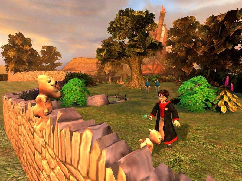 Harry Potter und die Kammer des Schreckens PS 2 Im Garten der Weasleys