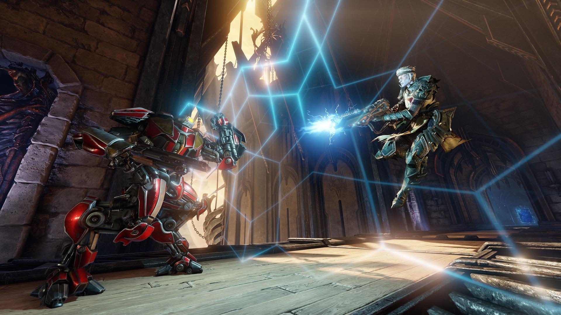 Quake Champions - Helden und Fähigkeiten