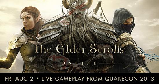 The Elder Scrolls Online - QuakeCon 2013