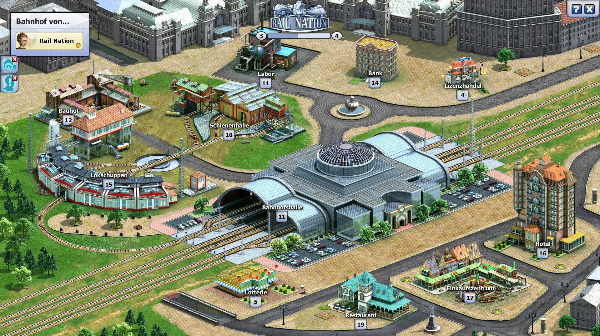 Rail Nation - Der eigene Bahnhof