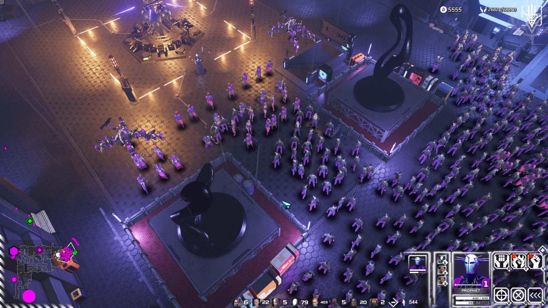 Re-Legion - dystopische Cyberpunk-Welt