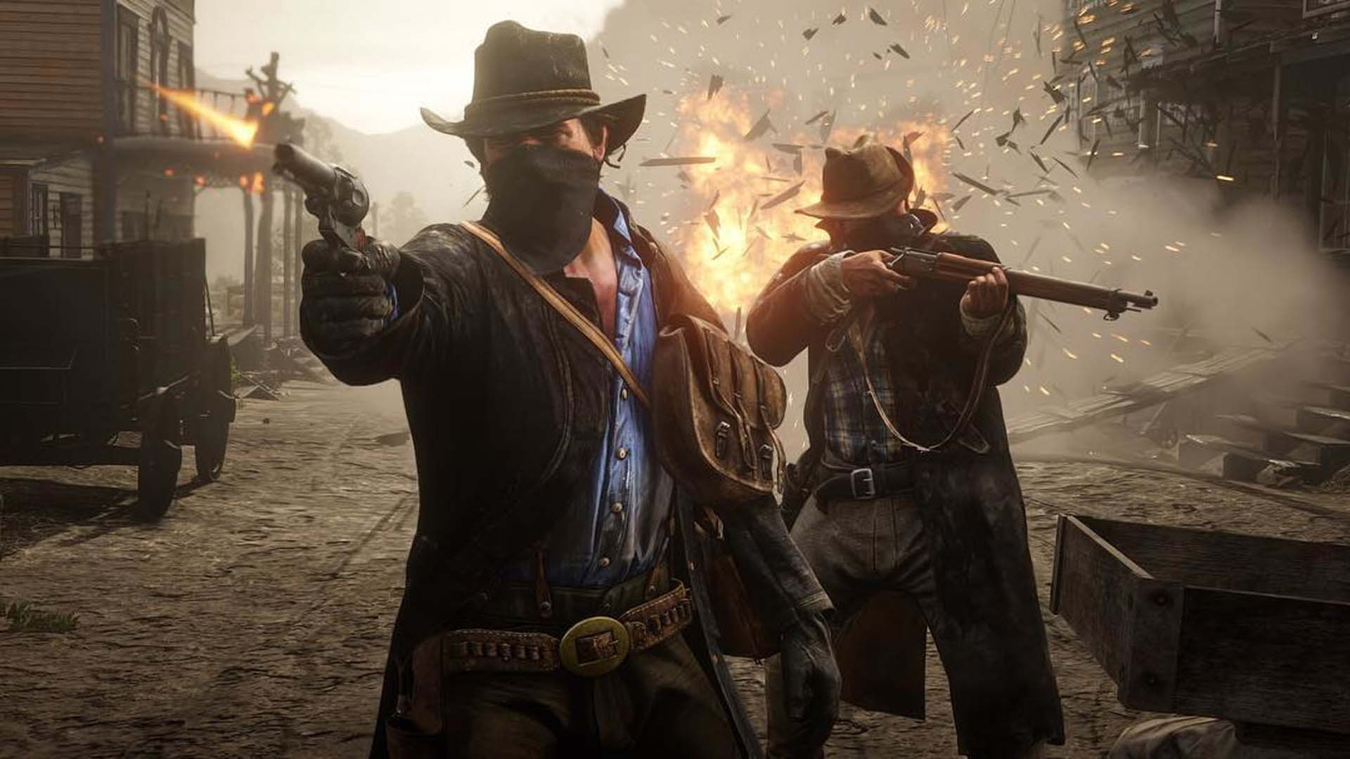 Red Dead Redemption 2 - Action