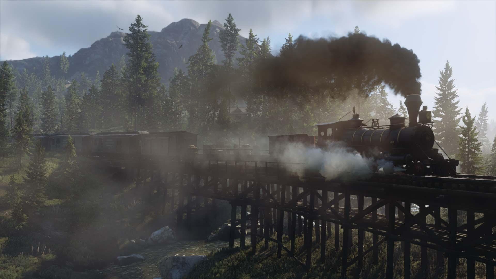 Red Dead Redemption 2 - Eisenbahn