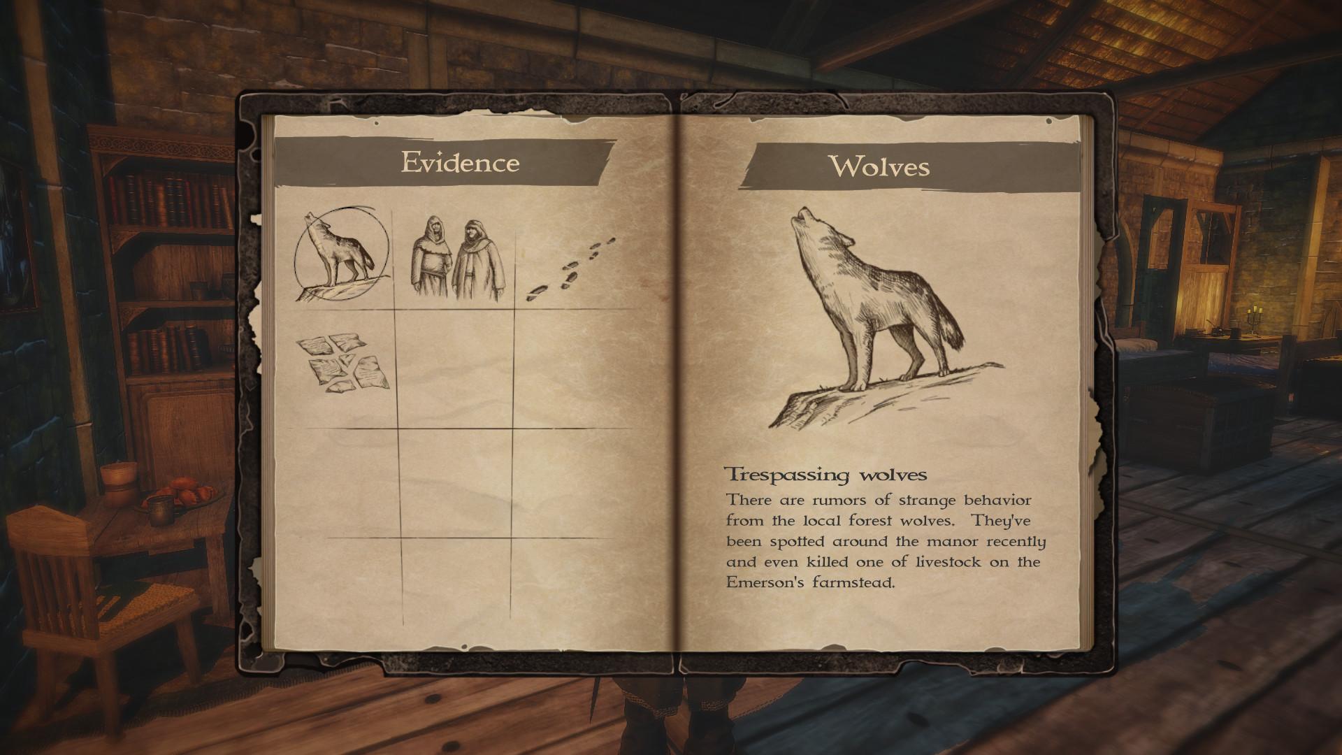 Rise of the King - Das Journal im Spiel