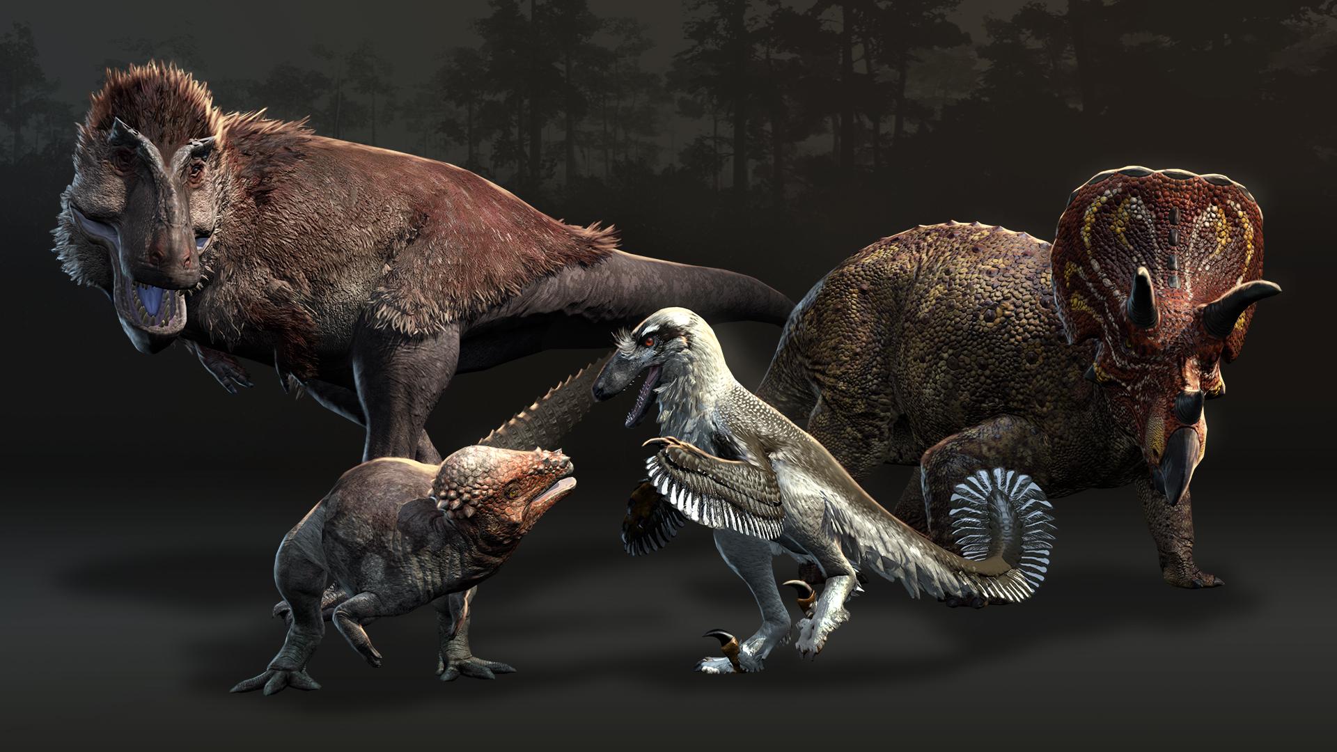 Saurian - Spielbare Dinos