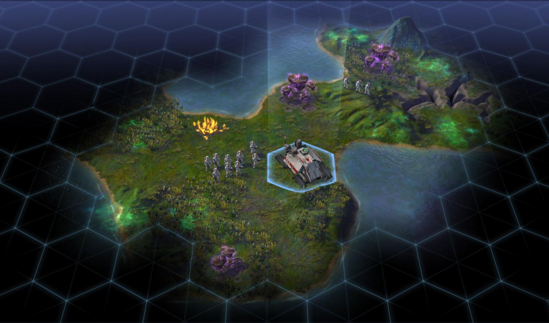 Sid Meiers Civilization Beyond Earth Neue Rohstoffe wollen abgebaut werden