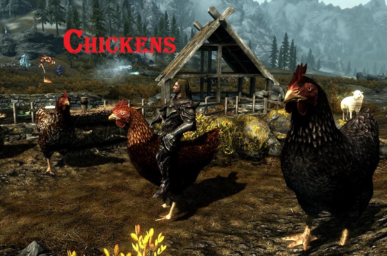 Skyrim Funny Mods Chicken Horse.jpg