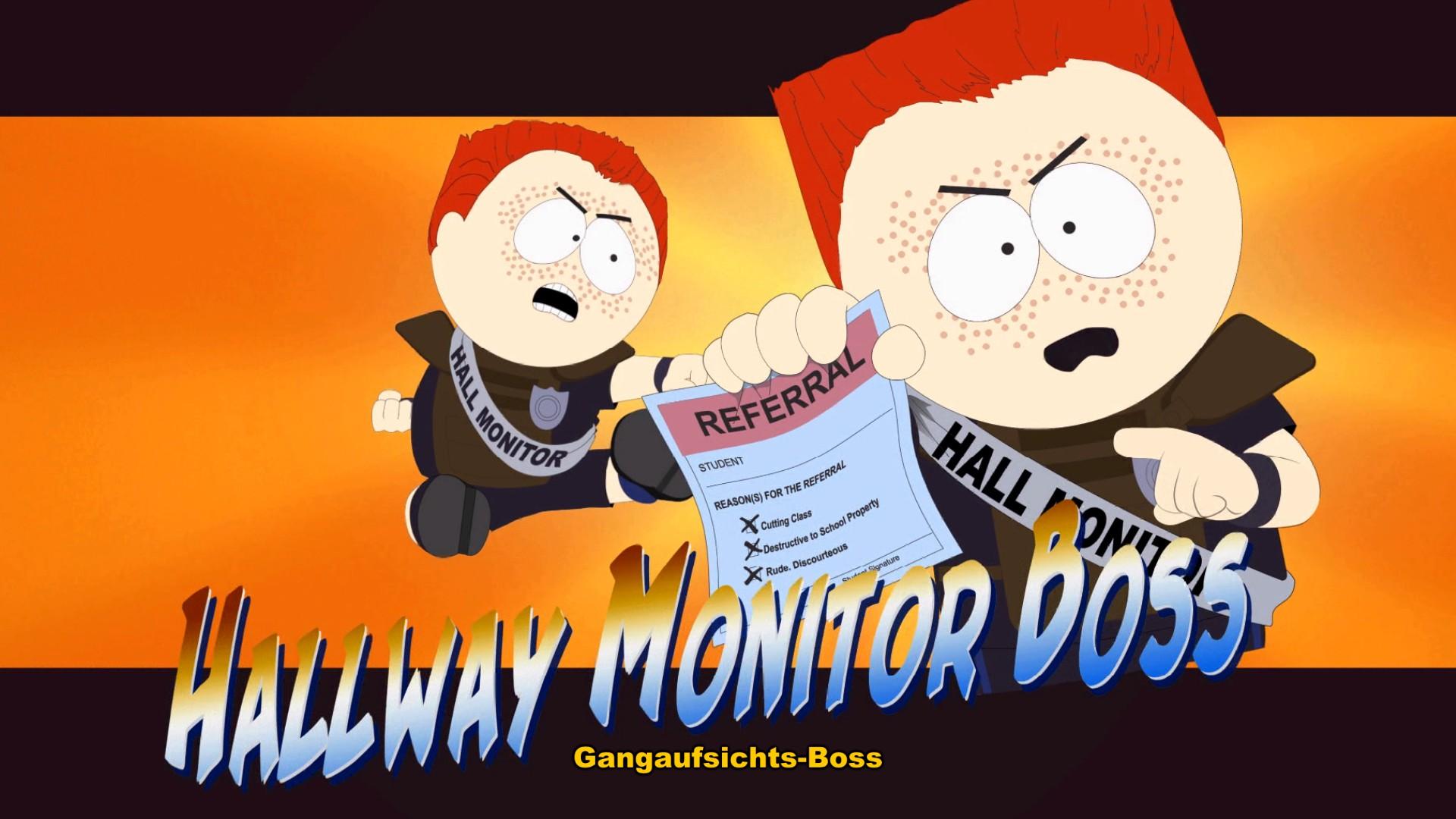 South Park Der Stab der Wahrheit - Gangaufsichts Boss