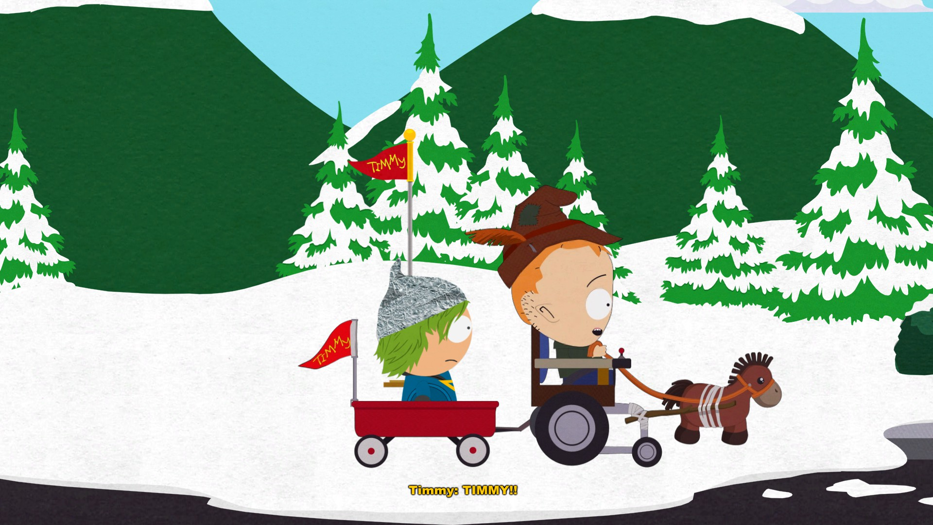 South Park Der Stab der Wahrheit -  mit Timmy schnell reisen