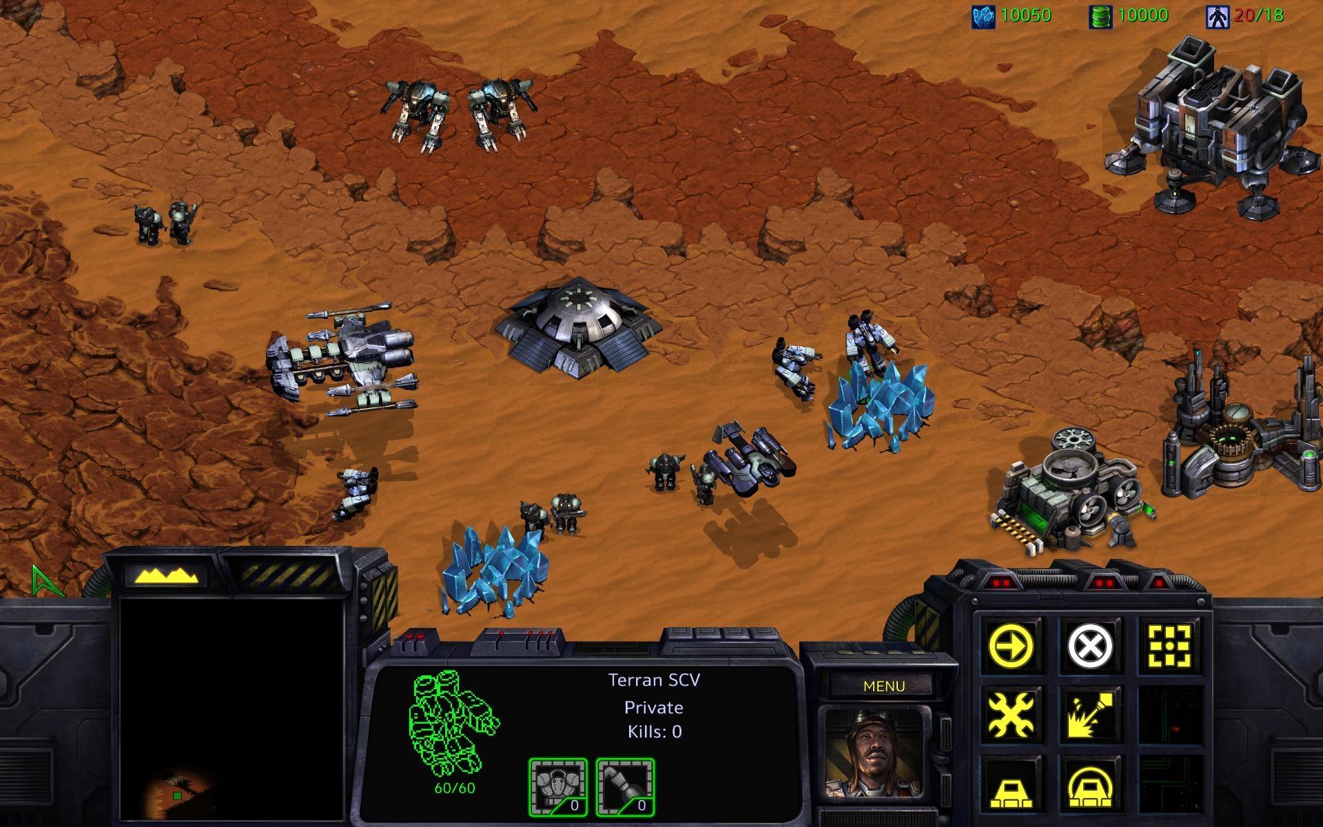 Starcraft Remastered - Terra New