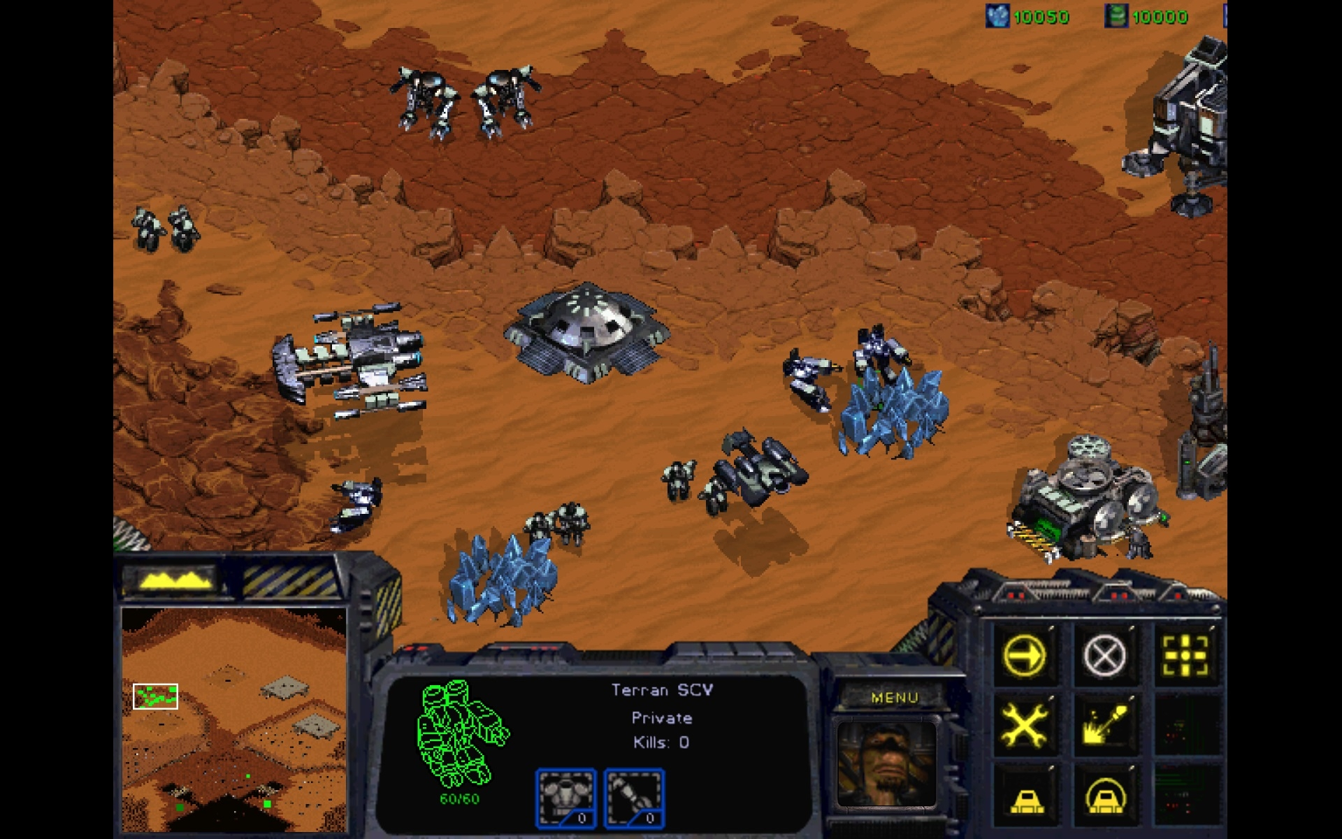 Starcraft Remastered - Terra Old