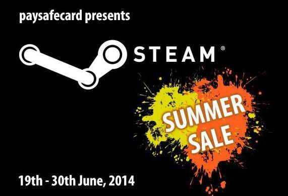 Steam Summer Sale 2014 PaySafeCard Werbung