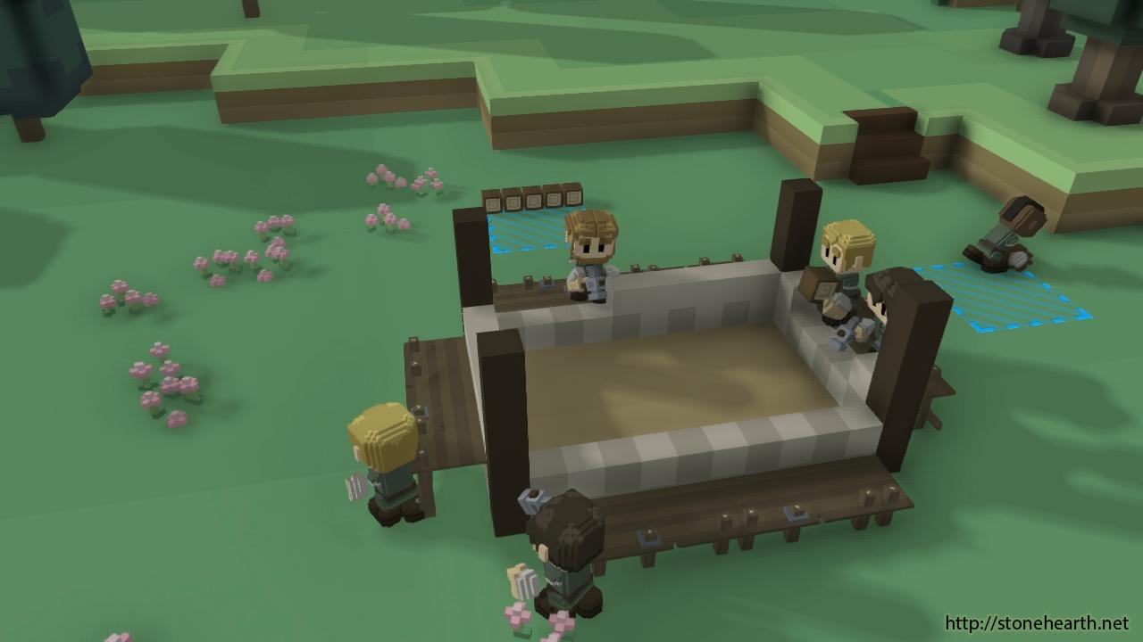 Entstehung eines Hauses