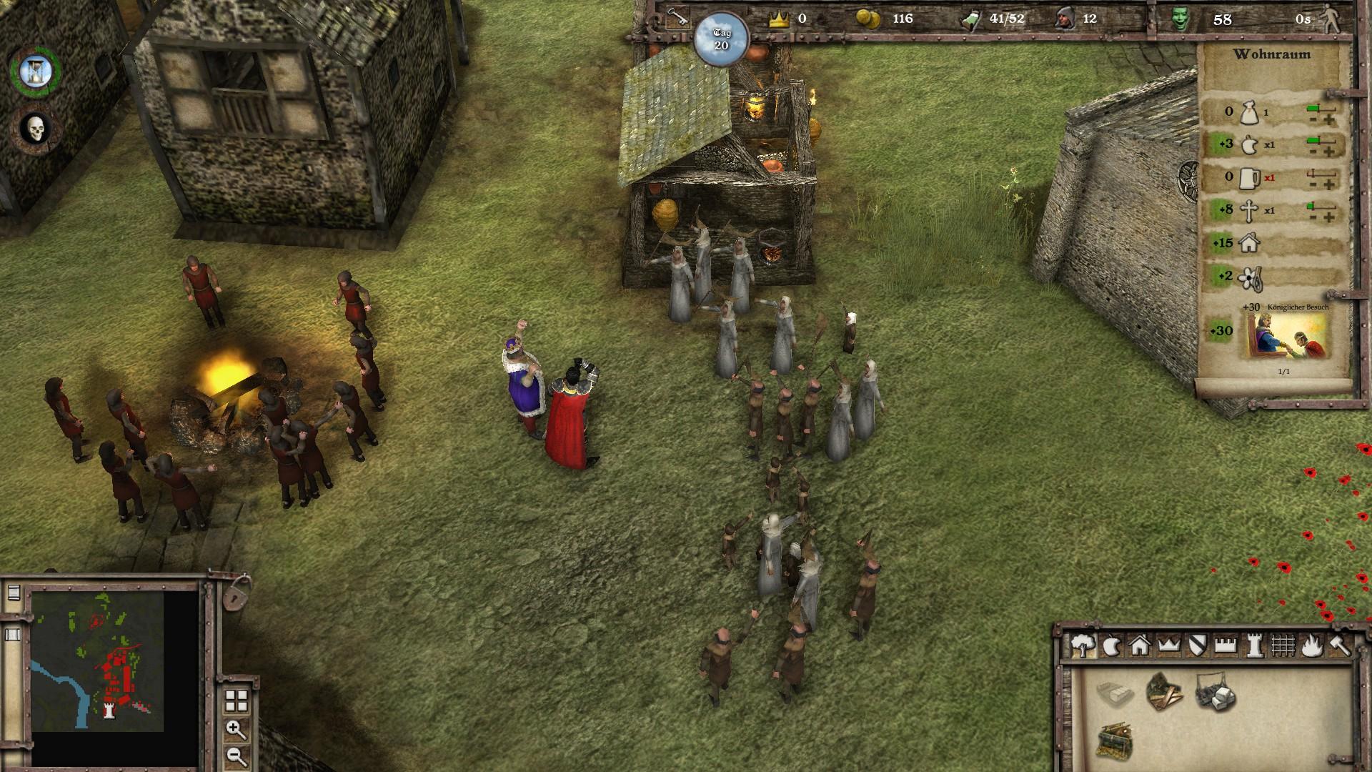 Stronghold 3 Der Koenig zu Besuch