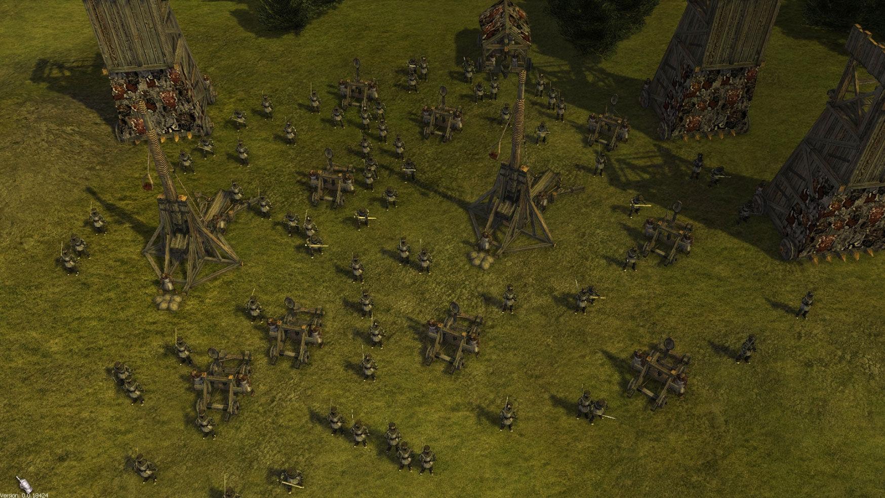 Stronghold 3 So soltle eine Belagerung aussehen leider ist die Wegfindung schlecht