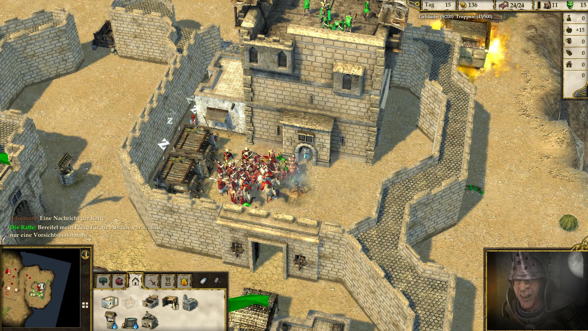 Stronghold Crusader 2 - Die Ratte in der Falle