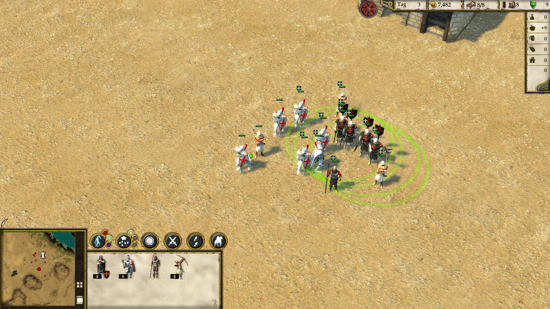 Stronghold Crusader 2 - Neue Einheiten mit Boni