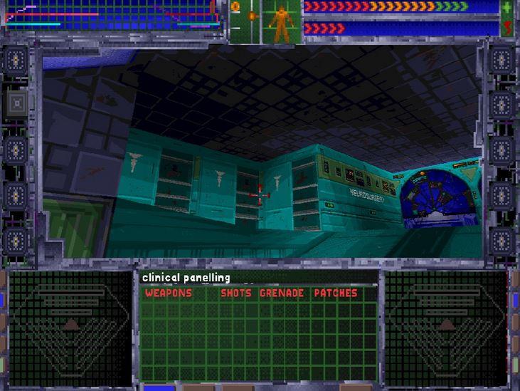 System Shock – Original - Aufgang