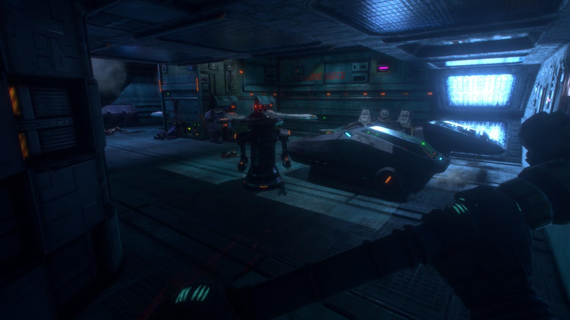 System Shock Remake - Aliens in Kapseln