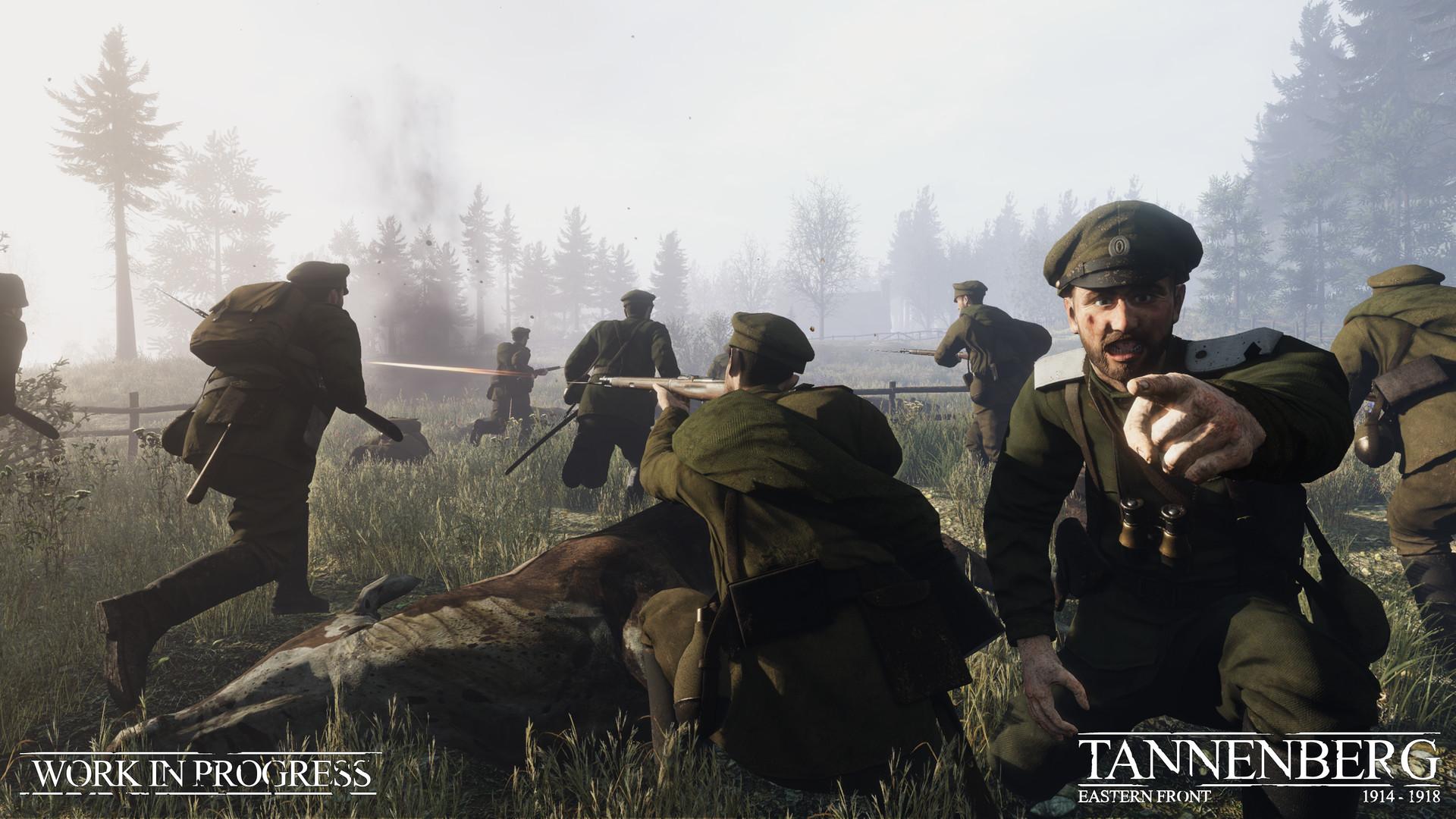 Tannenberg - Russische Attacke