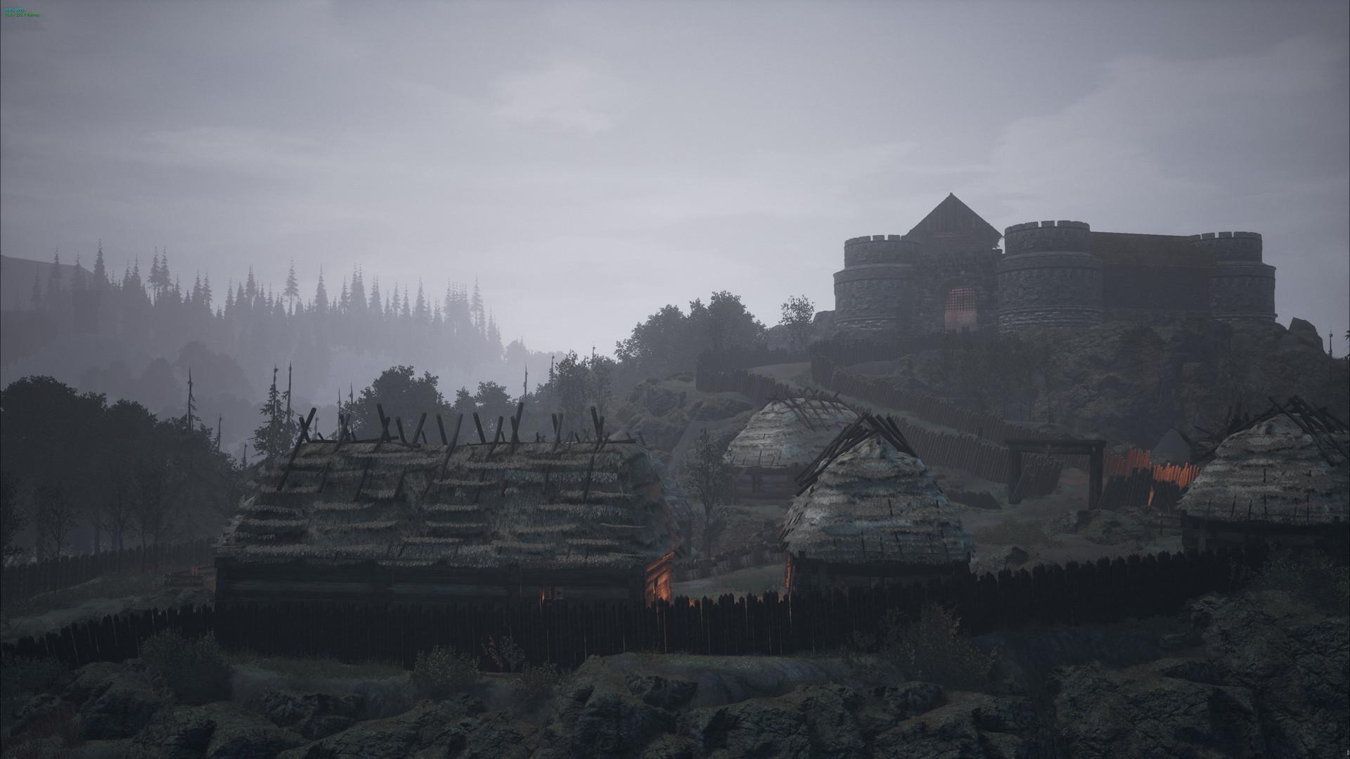 The Black Death - Ein Burg in mittelalterlichen Europa