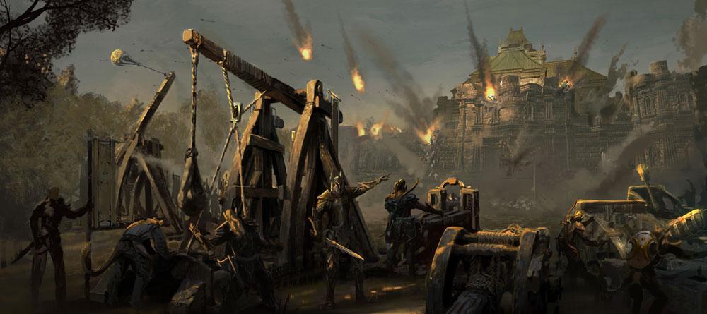 The Elder Scrolls Online Belagerungswaffen