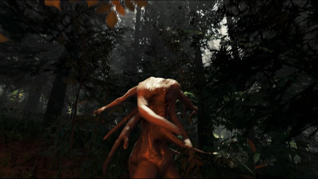 The Forest dieser Mutant ist wirklcih mutiert