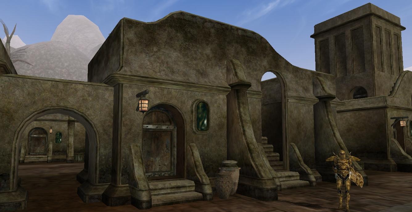 Old But Gold Games - Morrowind - Eine Stadt der Dunkelelfen