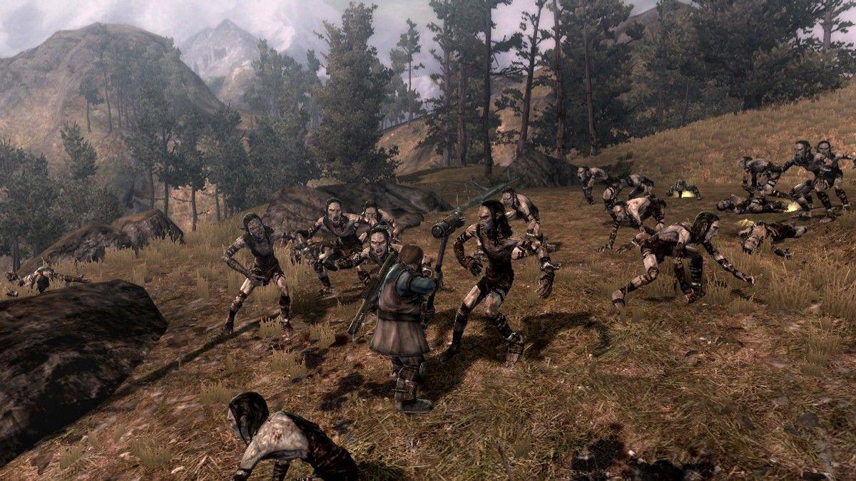 Herr der Ringe Games - Der Krieg im Norden - Ein Zwerg gegen eine Horde Orks