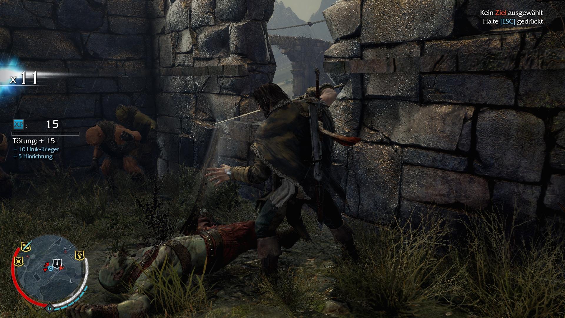 Herr der Ringe Games - Mordors Schatten - Orks meucheln
