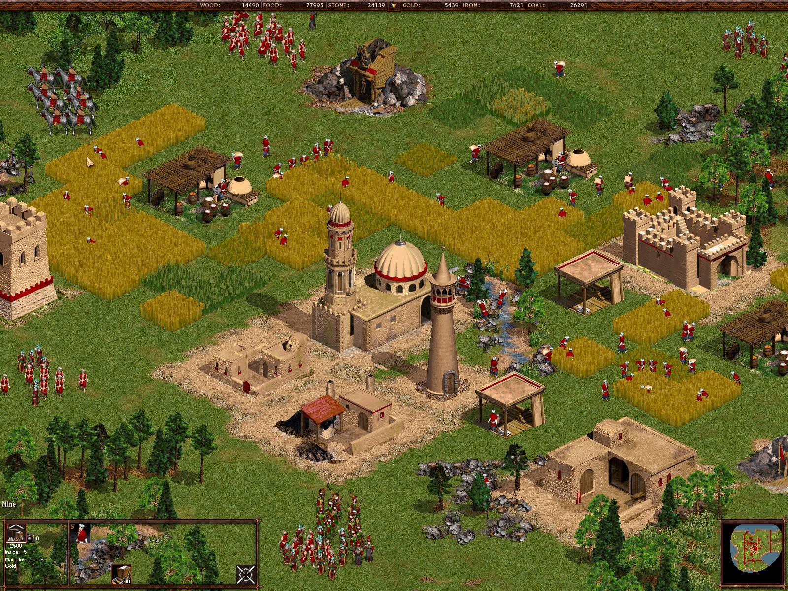 Top 10 LAN Games - Cossacks - Back to War- Anlegen einer Siedlung