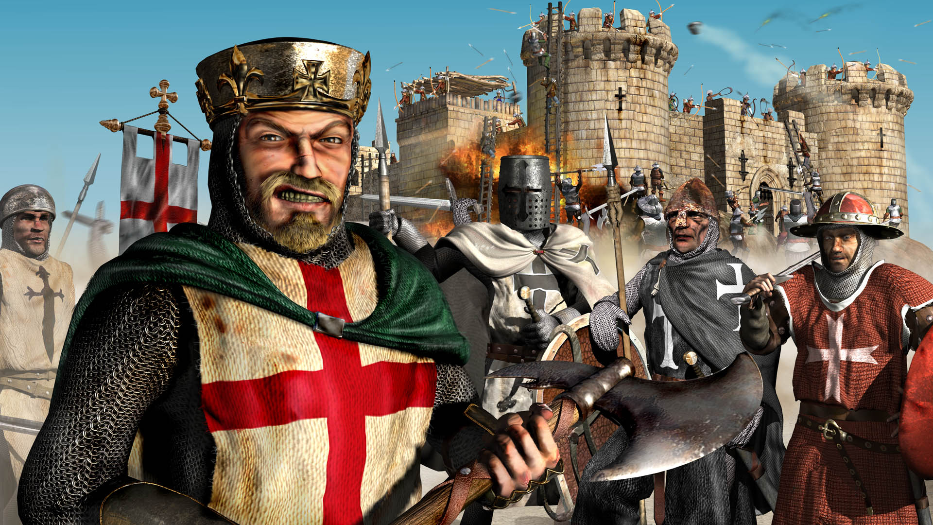 Top 10 LAN Games - Die Zweite Runde - Stronghold Crusader Logo