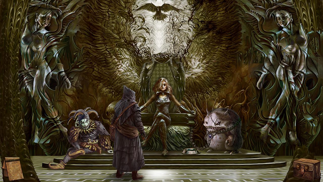 Tormentum - Dark Sorrow - im Thronsaal
